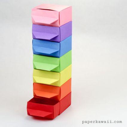 05a95a37d6f13bea260668f668f7c31d--rainbow-origami-rainbow-crafts