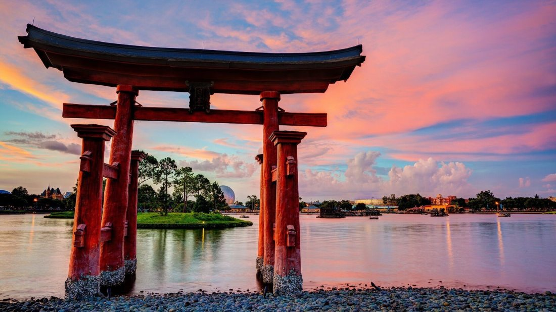 epcot-disneyland-torii-lakes-culture-japanese-architecture-1920x1080-wallpaper